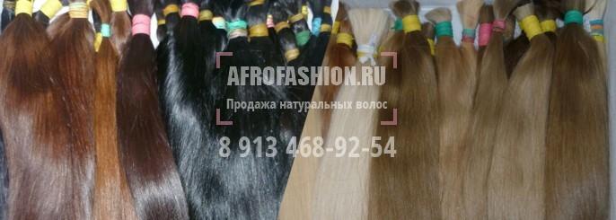 продажа прямых волос славянского типа
