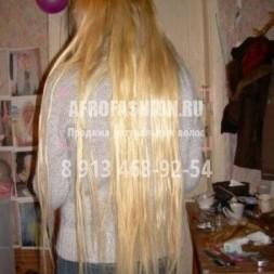 Мало прядей, пряди крупные, никакой укладки - расти коса до пола